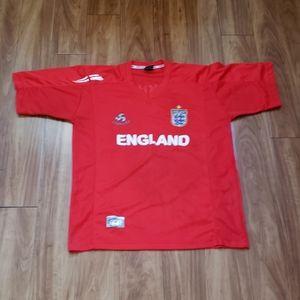 Ever Cool sport England National Soccer Jersey